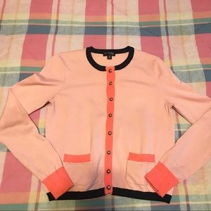 The Webster for Target Pink Colorblock Cardigan